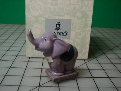 Lladro Circus Star Elephant ornament 06388 MIB