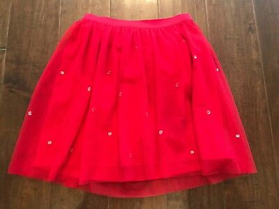 Circo Lined Tulle and Rhinestone Skirt Size 7-8 EUC