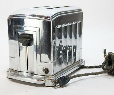 Art Deco Toastmaster 1B5 Toaster by McGraw Electric Waters-Genter Division Works
