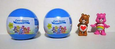 Care Bears HTF 2015 Sealed Blind Balls Series 1 Figurines Lot of 2 By: Just Play