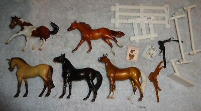 BREYER stablemates horse  figures toys figurines lot