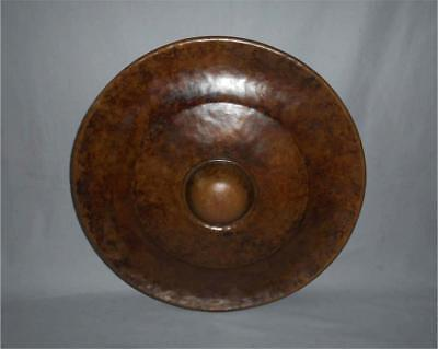 Antique Tibet TOP QUALITY HIGH AGED HUGE 22 inch COPPER BRONZE MONASTERY GONG