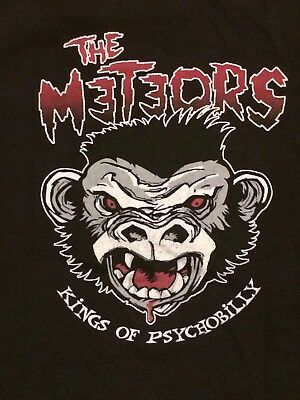 The Meteors T Shirt L These Evil Things Europe Tour 2005 Kings of Psychobilly