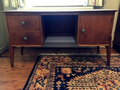 Stylish Mid-century Wooden Desk