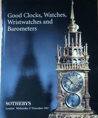 Good Clocks Watches Wristwatches Barometers Sothebys Auction Catalogues Dec 1997