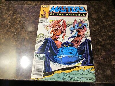 Masters of the Universe (Marvel/Star Comics) #5 1987