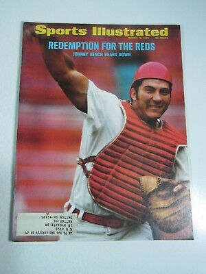 Sports Illustrated Magazine- March 13, 1972 Redemption For the Reds