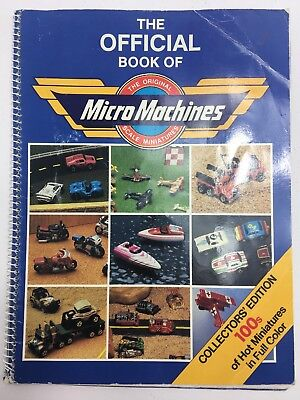 Official Book Of Micro Machines Galoob 1989 Beekman House
