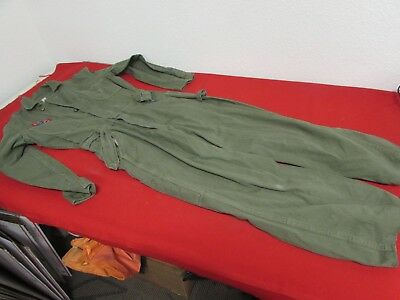 WWII US Army HBT coveralls with belt and CAP patch.