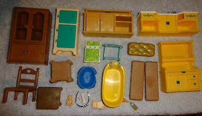 CALICO CRITTERS sylvanian maple town accessories furniture kitchen