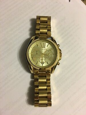 ebade1af49e9 Michael Kors Bradshaw Gold Chronograph Stainless Steel MK5605 Women s Watch