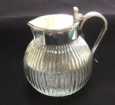 Chase Syrup Jug - As Is - Lid Has Come Off