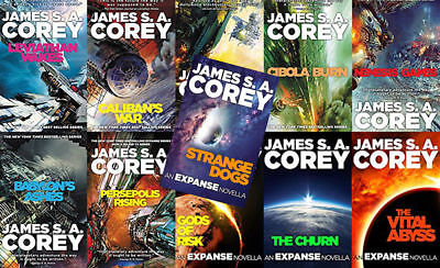 The EXPANSE Series By James S.A. Corey 11 MP3 Audiobooks DVD *Full Unabridged*