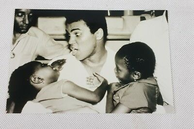 Black and White Photograph Mohammed Ali Boxing