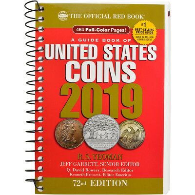 A Guide Book of United States Coins 2019: The Official Red Book, Spiral