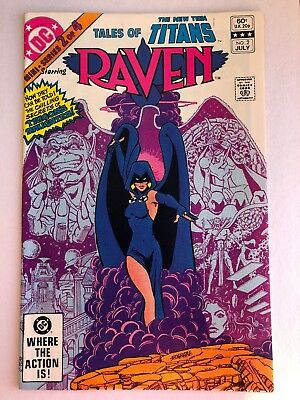 TALES OF THE NEW TEEN TITANS #2 Raven Origin Key Titans TV Series VF