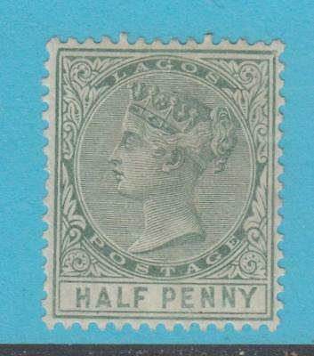 Lagos 13 Mint Remnant Hinged Og * No Faults Extra Fine !