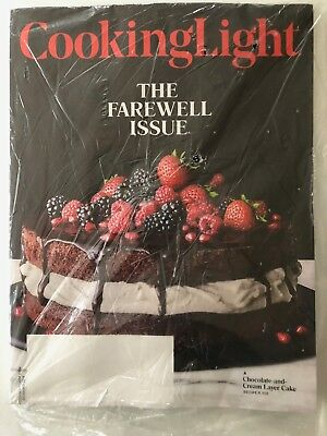 Cooking Light Magazine - The Farewell Issue - December 2018