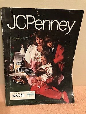 1973 JC Penny Christmas Catalog Fashion Race Track Dolls Toys Wish Book