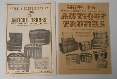 Lot of 2 Books - Antique Trunk Price Guide & Repair by Martin & Maryann LaBuda