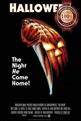 New Halloween John Carpenter Original Official Cinema Movie Print Premium Poster