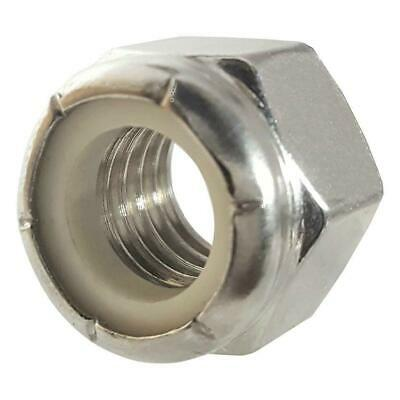 500 Qty 5/16-18 Stainless Steel Nylon Insert Hex Lock Nuts (BCP755)