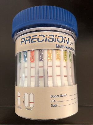 25 Pack 12 Panel Drug Testing Cup - Tests for 12 Drugs plus Adulterants