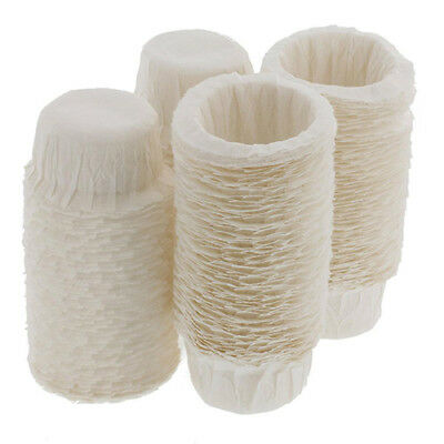 100pcs Disposable Paper Filters Cups Replacement Filters For Keurig K-Cup Envy