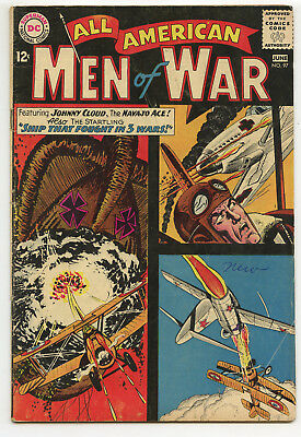 JERRY WEIST ESTATE: ALL AMERICAN MEN OF WAR #97 (DC 1963) VG condition NO RES
