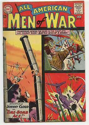 JERRY WEIST ESTATE: ALL AMERICAN MEN OF WAR #98 (DC 1963) VG condition NO RES