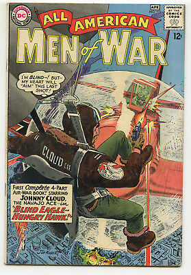 JERRY WEIST ESTATE: ALL AMERICAN MEN OF WAR #102 (DC 1964) FN condition NO RES