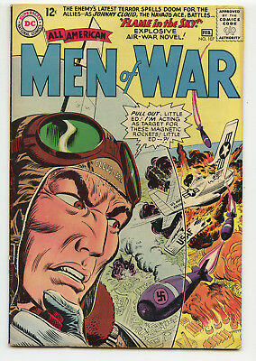 JERRY WEIST ESTATE: ALL AMERICAN MEN OF WAR #107 (DC 1965) FN condition NO RES