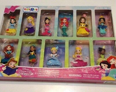 Disney Princess Little Kingdom Collection Set of 11 TRU Toys R Us Exclusive