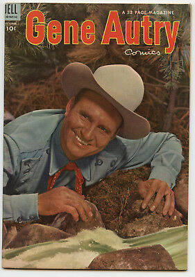 JERRY WEIST ESTATE: GENE AUTRY COMICS #80 (Dell 1953) VF condition! NO RES