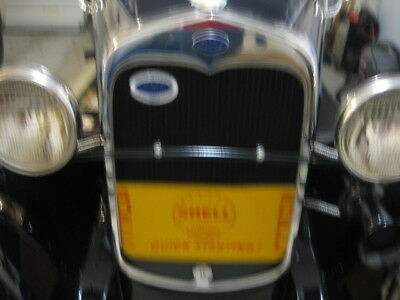 Vintage Shell Gasoline Advertising Radiator Shield For Model A Ford  And Others