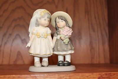 Kim Anderson Figurine 786071 ~ We'll Always Share Something Special 2000 ~ VG!
