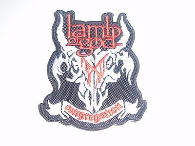 Lamb Of God Congregation Embroidered Patch