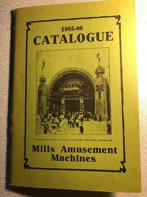 Old Mills Amusement Machines Catalogue 1905-06