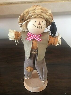Avon collectible Scarecrow Country Pomander The Gift Collection Fall decor