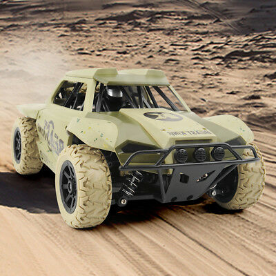 RC Car 4WD Monster Truck 1/18 Scale 2.4Ghz Off-Road Remote Control Car RTR Toys