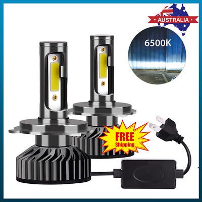 H4/9003 1150W 172500LM LED Headlight Kit Conversion Globes Bulb Hi-Lo Beam 6500K