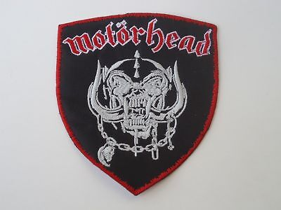 Motorhead Snaggletooth Embroidered Patch