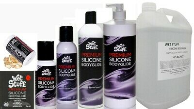 Wet Stuff Premium Silicone Bodyglide Personal Lubricant Sex Lube Adult All Sizes