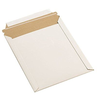 "9x11.5"" RIGID PHOTO MAILERS ENVELOPES FLAT DOCUMENT SELF SEAL MAILER 100 To 1000"