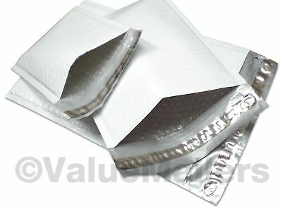 #1 Quality POLY 7.25x12 DVD Bubble Mailers Envelopes Bags 50 100 200 500 1000