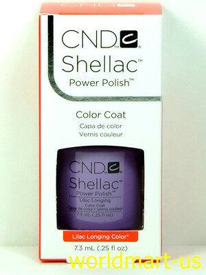CND Shellac GelColor UV/LED: #09856_Lilac Longing 0.25fl.Oz