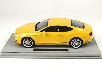Bentley Continental Gt V8-S Coupe 2014 Yellow Lim: 20Pcs Bbr Model 1/18 #p1886Bv