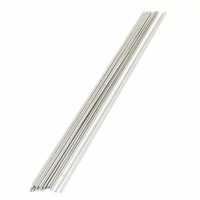HK 20PCS 300mm x 2mm Stainless Steel Round Rod Axle Bars for RC Toys B6L5