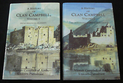 A HISTORY OF CLAN CAMPBELL Vol 1 / Vol 2 - Alastair Campbell (Family History)