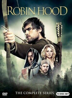 Robin Hood: The Complete Series [New DVD] Boxed Set, Slipsleeve Packaging